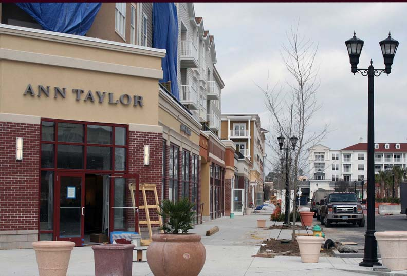 Ann Taylor is one of the new stores in Market Common Myrtle Beach